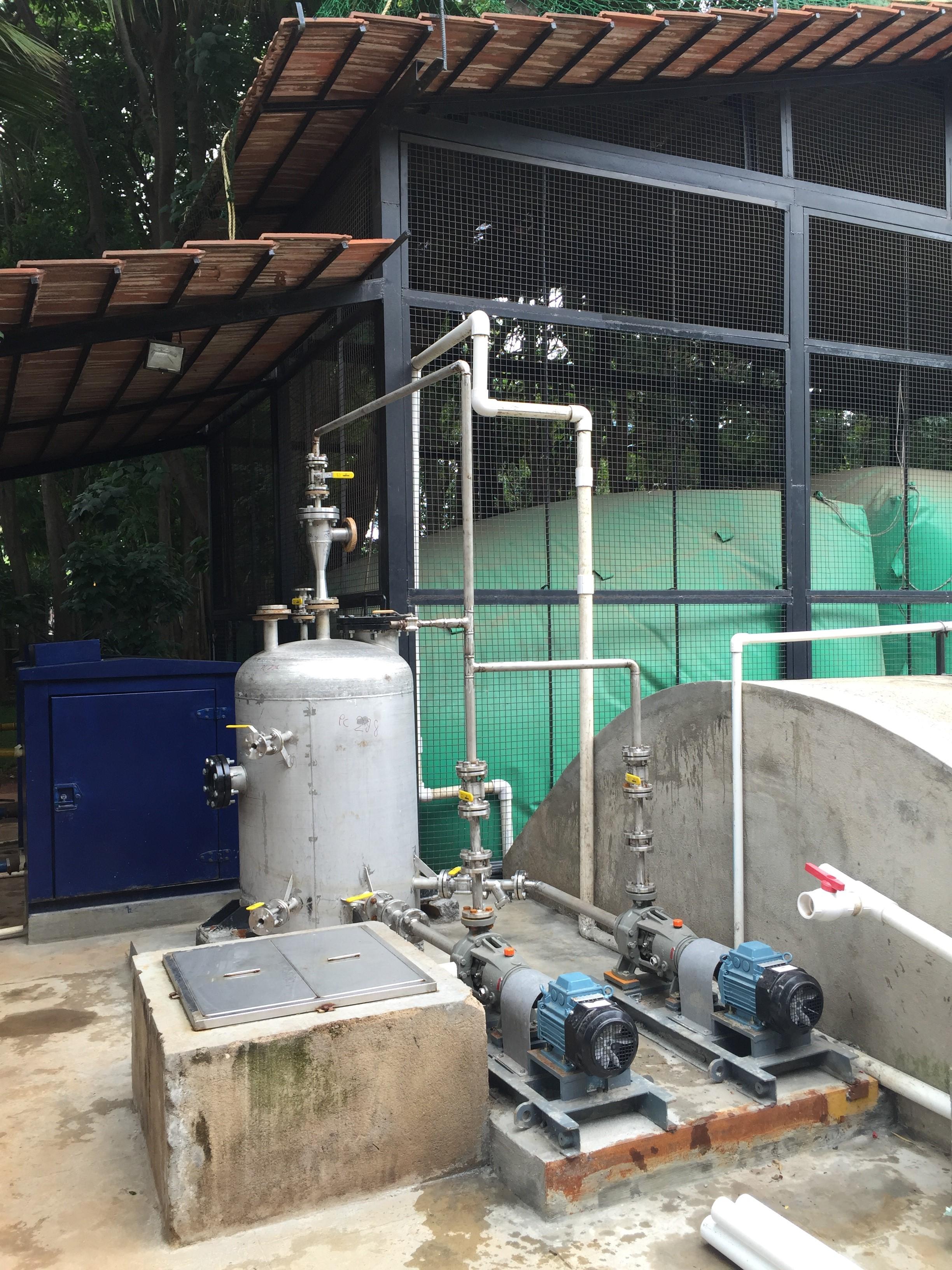 Biogas plants at E-city – Electronics City Industrial